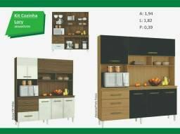 kit cozinha lory mega promoção ( entrega e montagem imediata sem taxas )