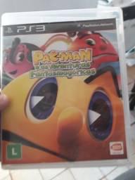 Jogo PAC MAN aventuras fantasmagórica para PS3 Original novo