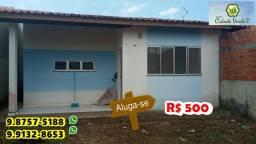 Alugo Casa na cidade Verde por 500 reais