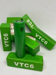 Bateria 18650 para vapar vtc6 sony 3000 Mha 30a