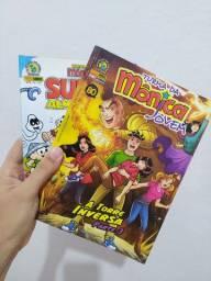 Super Almanaque Turma da Mônica + revista Jovem