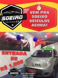 UNO VIVACE 1.0 ENTRADA R$1.000