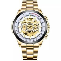 Relógio Automático Mecânico Winner Original