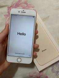 Iphone 8, seminovo, 64gb, 85% de bateria