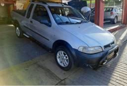 Fiat Strada Adventure cabine estendida 2002 completa.
