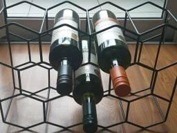Adega - Suporte de garrafas 11 lugares