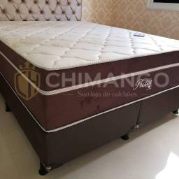 Cama Box + Colchao Pictor pockt 34cm Montreal Super King 193