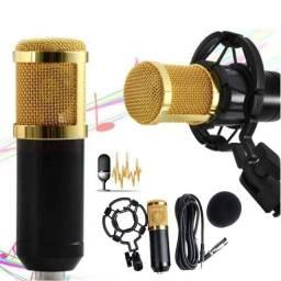 Microfone Profissional Cantar Pc Condensador Gamer Gravação