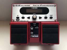 Pedal Boss VE 20 - pedal de vocal