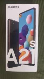 Vendo celular Samsung A 21 s zero na caixa