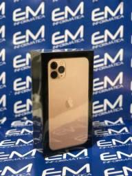Mega promoção 11 Pro Max 256GB Apple (Gold)- Lacrado - Loja Niterói