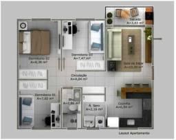 Apartamento 3 Quartos - Coqueiro - Ilhas do Atlantico