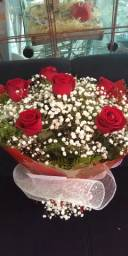 Buquê de flores promocional