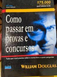 Livro Como passar em provas e concursos - William Douglas