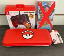 Jogos e acessórios ( novo lacrado) para Nintendo Switch com garantia