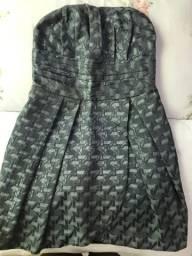 Vendo vestido usado uma vez tam p