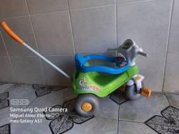 Carrinho andador + carrinho de bebê