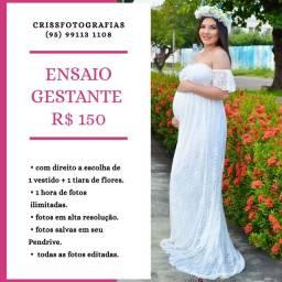 ENSAIO FOTOGRÁFICO GESTANTE