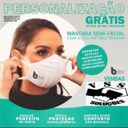Mascara antibacteriana lavável