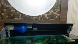 Luminaria para aquario de até 60cm de comprimento
