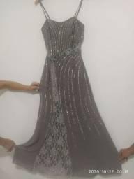 Vestido longo importado