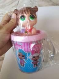 Kit LOL Surprise Boneca + Caneca Personalizada