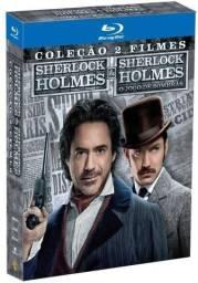 Blu-ray Sherlock Holmes 1 E 2 - Novos - Originais Lacrados o Jogo de Sombras - 2 Discos