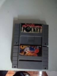 2 fitas de super Nintendo