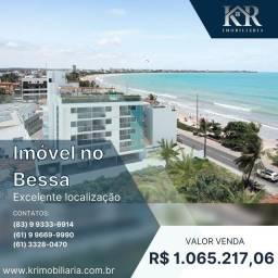 Título do anúncio: Cobertura com 2 dormitórios à venda, 125 m² por R$ 1.065.217,06 - Bessa - João Pessoa/PB