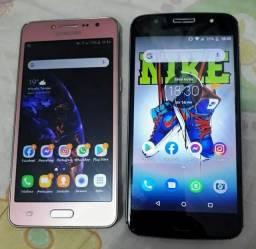 Moto g5s +Samsung j2 prime troco os dois por outro ou vendo os 2 juntos