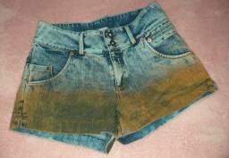 Shorts jeans bicolor Tam.36