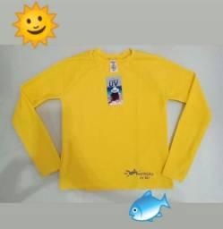 Camisa UV Infantil Malha Fria - Atacado e Varejo