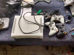 Xbox com HD e Manetis desbloqueado Vendo ou troco