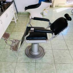 Cadeira Barbeiro Ferrante Reclinável