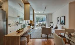 Apartamento à venda com 2 dormitórios em Cabral, Curitiba cod:AP0211