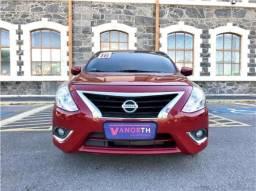 Nissan Versa 1.6 16v flex sv 4p manual