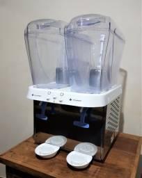 Refresqueira  Inox 2 reservatórios de 16 litros - Venâncio
