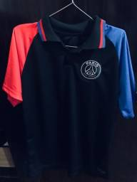 Camiseta polo dry fit psg M nova nunca usada