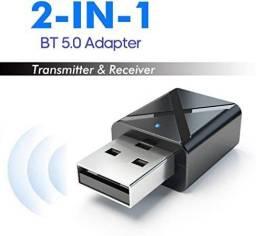 Transmissor e receptor bluetooth 2 in 1