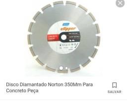 Disco Corte Diamant Premium 350x25.4 Clipper Profissional Norton