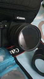Camera Rebel T5 + Bolsa, Quebra Sol e Filtros