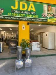 Título do anúncio: Liquidificador industrial capacidade 25 e 19 litros - padaria- pizzarias / casa de bolos