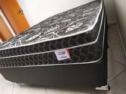 :: Mega Promoção Cama Box + Colchão Sonata Casal Molas 138x188