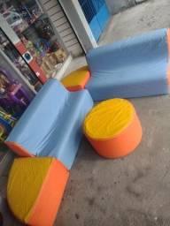 Jogo de sofá infantil para crianças