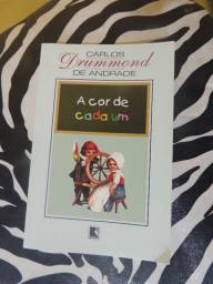 Livro A Cor de Cada Um- Carlos Drummond de Andrade