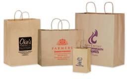Vendo sacolas de papel Kraft