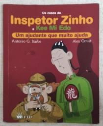 Livro Os Casos do Inspetor Zinho e Kee Mi Edo