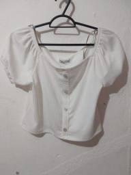 blusa branca nova