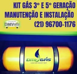 Título do anúncio: Promoção Kit Gás 3° e 5° Geração GNV