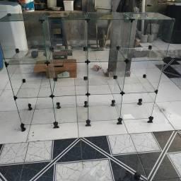 Vidros para balcão